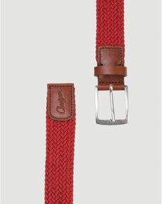 CEINTURE ROUGE PIMENT BRAID