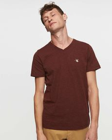 TEE-SHIRT BURGUNDY CHINE T-TOGS V