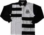 POLO RUGBY REF. BRITTANY Noir/Blanc