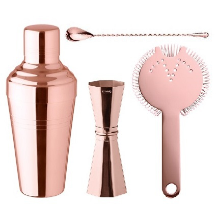 Copper and Rose Gold Bar tools