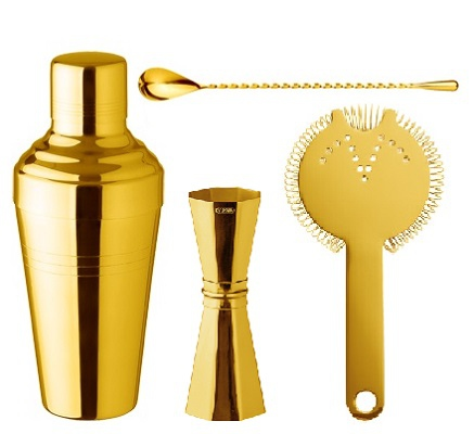 Gold Plated Bar Accessories