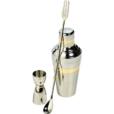 Materiel de bar Inox et Or