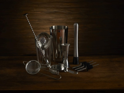 Bartender Cocktail Kit 11 Pieces