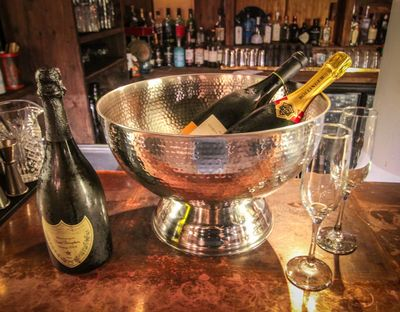 Hammered Champagne Bowl 13 Liters