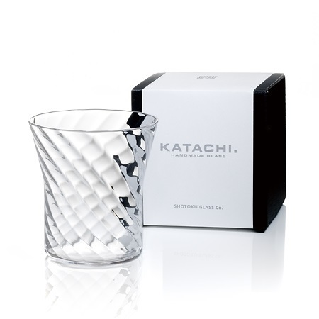 "Katachi Glass Shamon 28cl ""Y"""