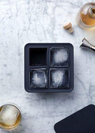 Extra Large Ice Cube Tray Charcoal