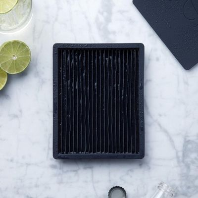 Crushed Ice Tray Black