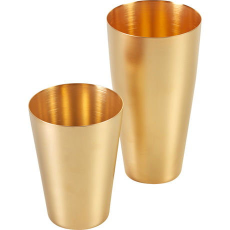 Boston Shaker U.S. Matte Finish Gold Yukiwa 70cl