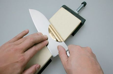 Knife Sharpening Guide and Eraser Whetstone Set Suehiro