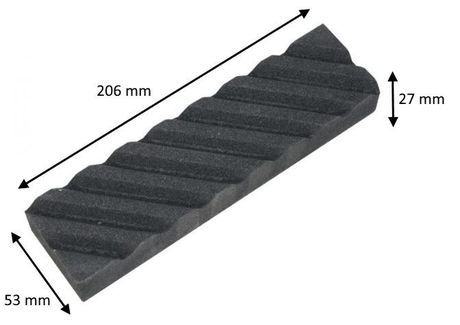 Flattening Whetstone Suehiro For medium and coarse whetstones #100 (black)