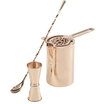 Premium Stirred Cocktail Set - Rose Gold