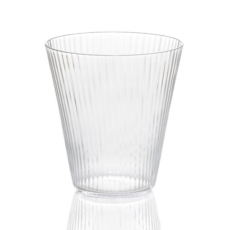 "Katachi Glass Senbon 26.5cl ""V"""