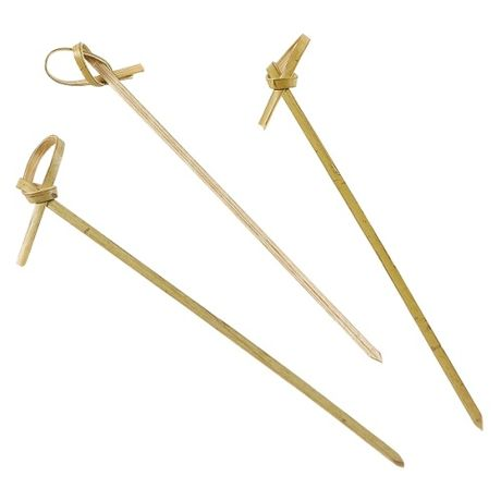Bamboo Looped Skewers 12cm