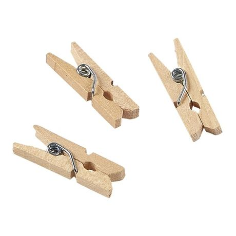 Miniature Wooden Pegs 2.5cm