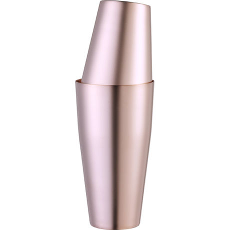 Boston Shaker U.S. Matte Finish Rose Gold Yukiwa 70cl