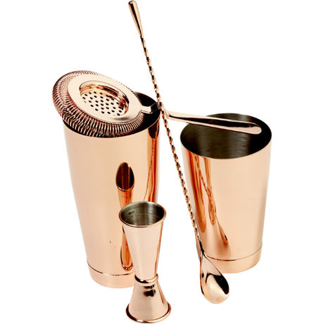 Copper Cocktail Kit - 5 Pieces