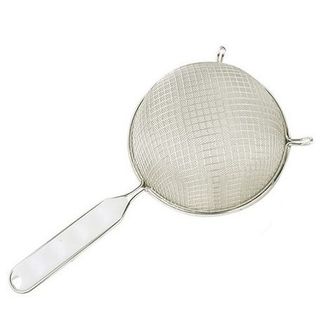 Renforced Metallic Mesh Strainer