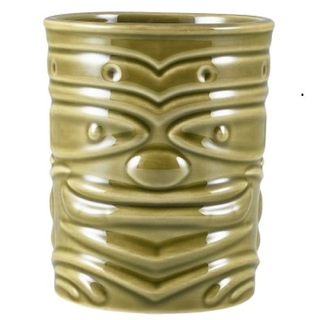 Green Tiki Mug 36cl
