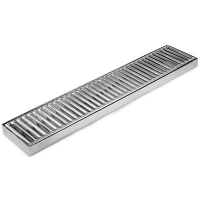 Stainless Steel Long Drip Tray 50x10cm
