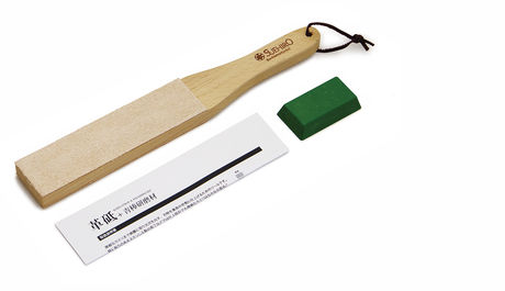 Knife Strop and Polishing Kit Suehiro 31cm