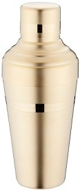 Baron Shaker Yukiwa Matte Finish Gold Plated 51cl