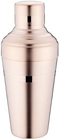 Baron Shaker Yukiwa Matte Finish Rose Gold Plated 51cl