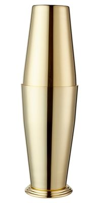 Boston Shaker Gold Plated Yukiwa 70cl