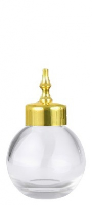 Bitter Bottle Sphere Gold Cap 3.5cl