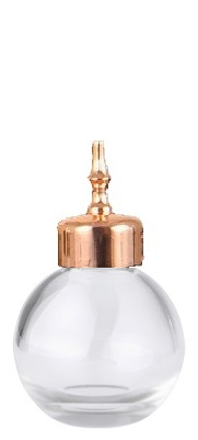 Bitter Bottle Sphere Rose Gold Cap 3.5cl