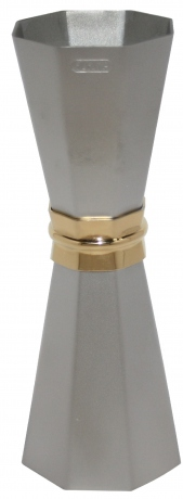 Jigger Yukiwa Otto Matte Finish with Golden Ring 33/45ml