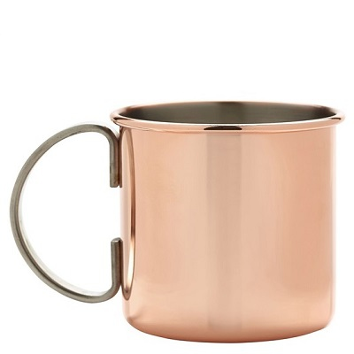Straight Copper Mug 50cl