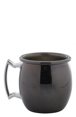 Mini Barrel Mug Noir 6cl