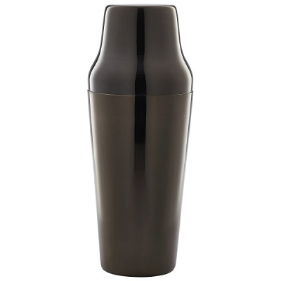 Parisian Cocktail Shaker Black 70cl