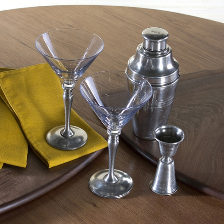 Pewter Cocktail Set