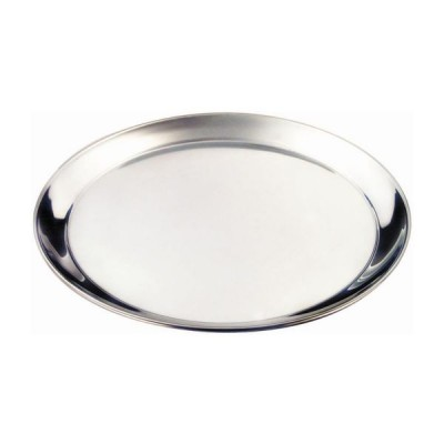 Stainless Steel Round Bar Tray 30cm