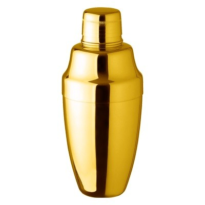 Cobbler Shaker Yukiwa Gold Plated 50cl