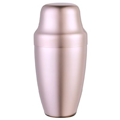 Club Shaker Yukiwa Matte Finish Rose Gold Plated 50cl