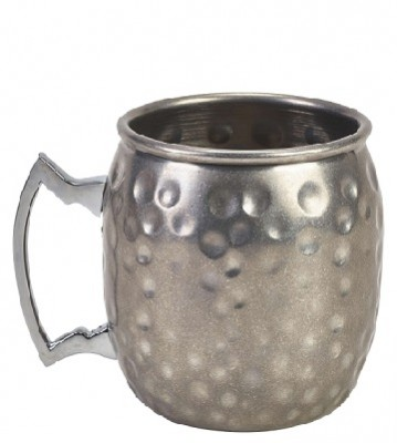 Barrel Vintage Mug 40cl Hammered