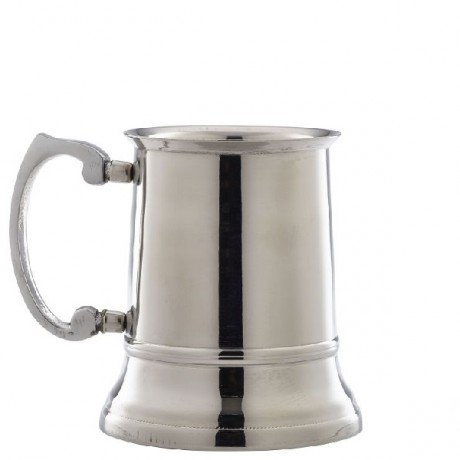 Stainless Steel Tankard 45cl