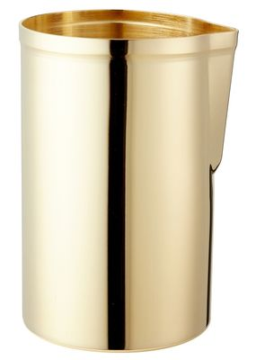 Mr Slim Mixing Cup Matte Finish Gold Plated 58cl