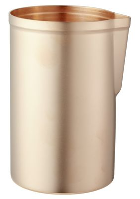 Mr Slim Mixing Cup Matte Finish Rose Gold Plated 58cl