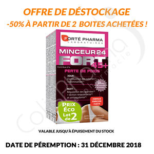 Forté Pharma - Minceur 24 45+ Duo Pack