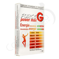 Force G Power Max - 10 ampoules