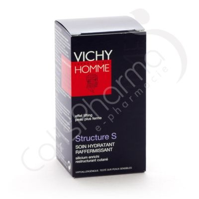Vichy Homme - Structure S Soin Hydratant Raffermissant