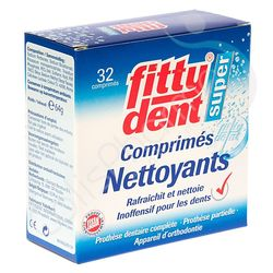 Fittydent Super Comprimés Nettoyants