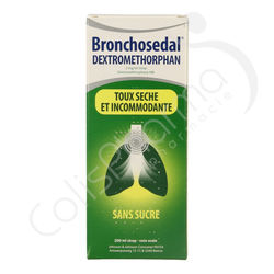 Bronchosedal Dextromethorphan - Sirop 200 ml