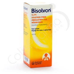 Bisolvon Solution pour inhalation 2% - 100 ml