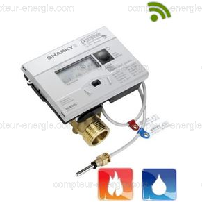 Compteur Energie Thermique Chaud/Froid SHARKY 774