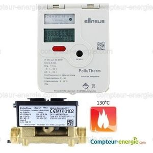 Compteur Energie Thermique POLLUTHERM Chauffage
