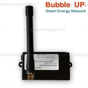 Bubble UP 169MHz LoRa - Decodeur TIC compteur EdF